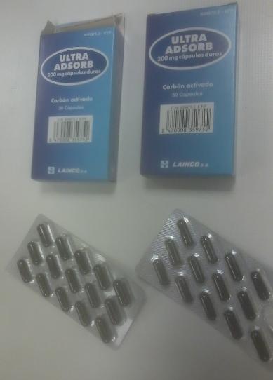 para que sirve el carbon activado en tabletas